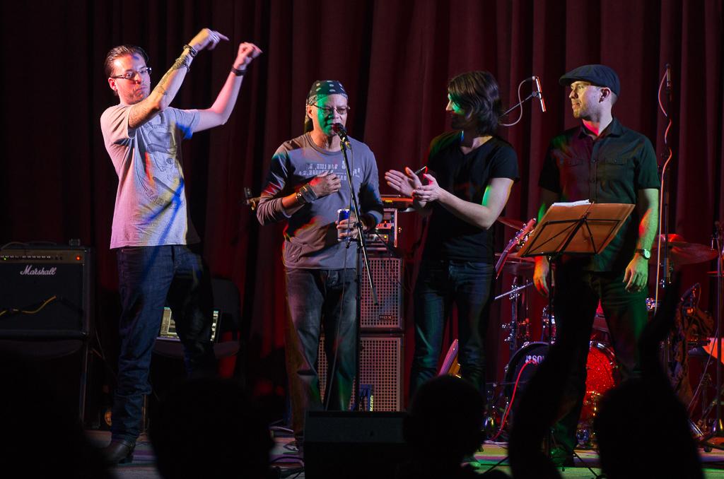 Fernando Sounders a band v Berouně, foto Rejka Balcarová.
